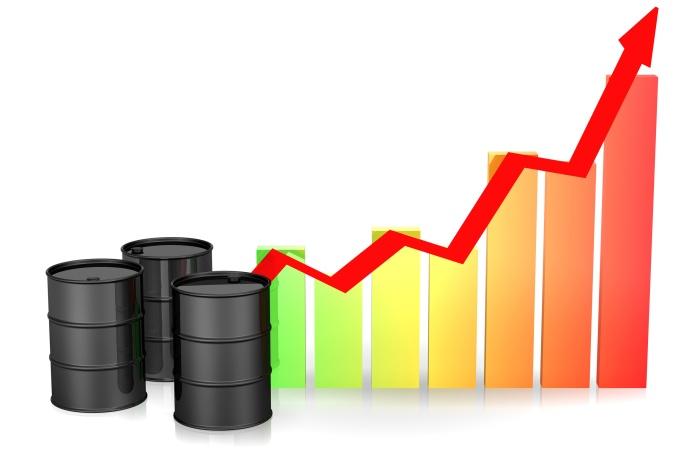 Hausse du prix du baril de pétrole